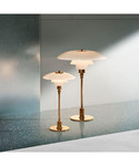 Louis Poulsen PH 3½-2½ Bordlampe Messing